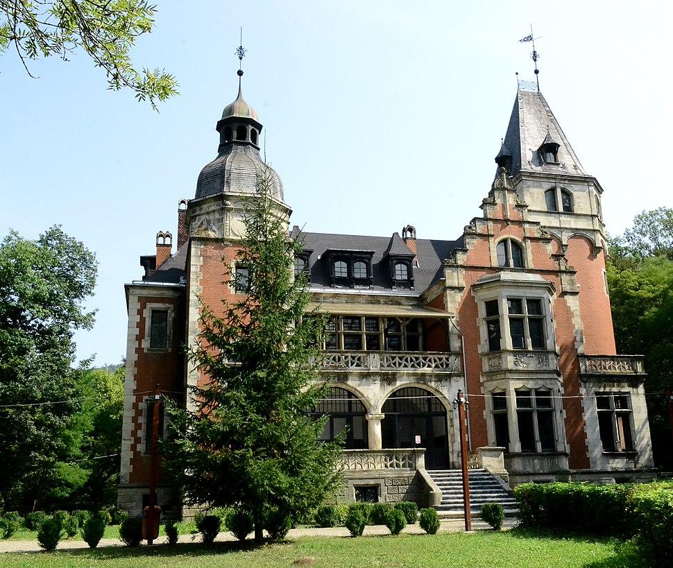 Palatul Ghika -vedere din fata
