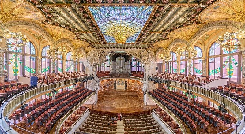 File:Palau de la Música Catalana, interior 3.jpg