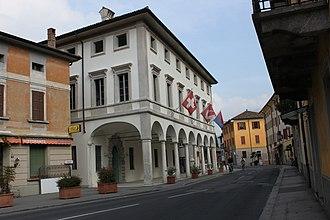 Riva San Vitale - Town hall of Riva San Vitale