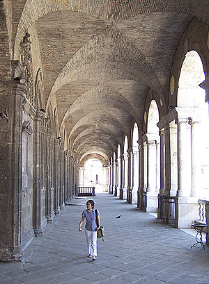 Basilica Palladiana - Upper level loggia