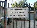 Panneau Procureur de la République à La Sathonette.JPG