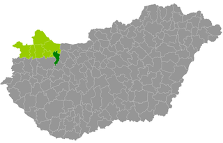 Pannonhalma District Districts of Hungary in Győr-Moson-Sopron