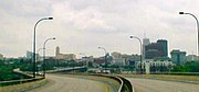 Panorama of Akron Ohio