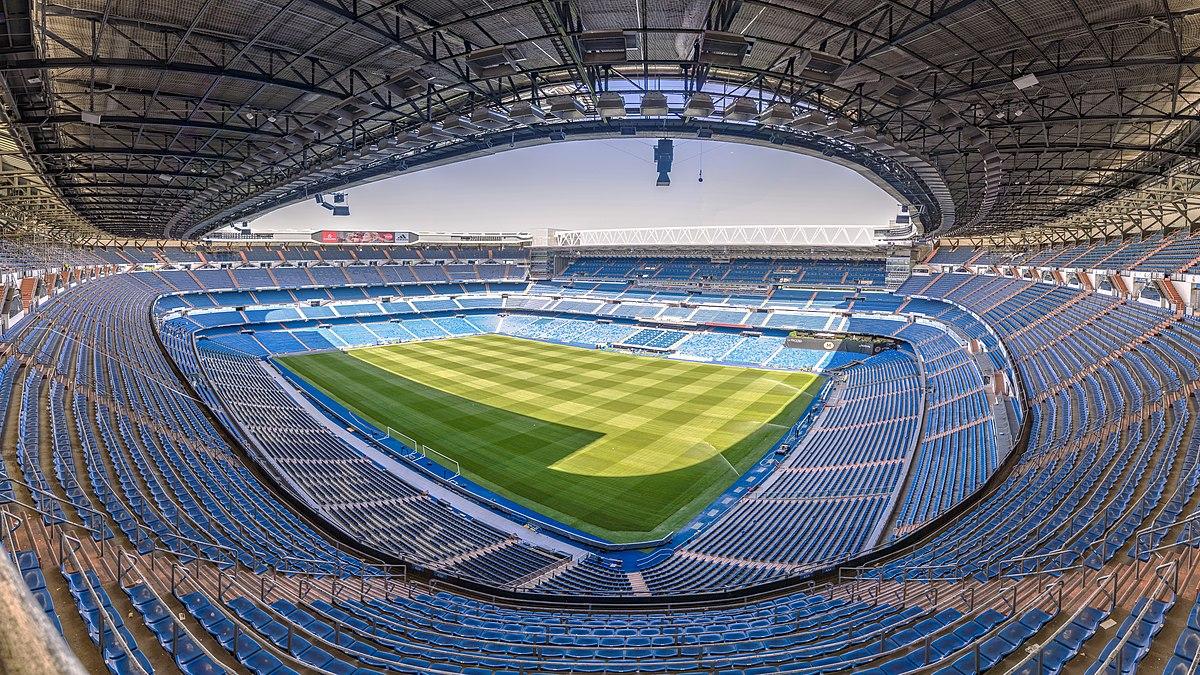 Stadion Santiago Bernabéu v Madridu