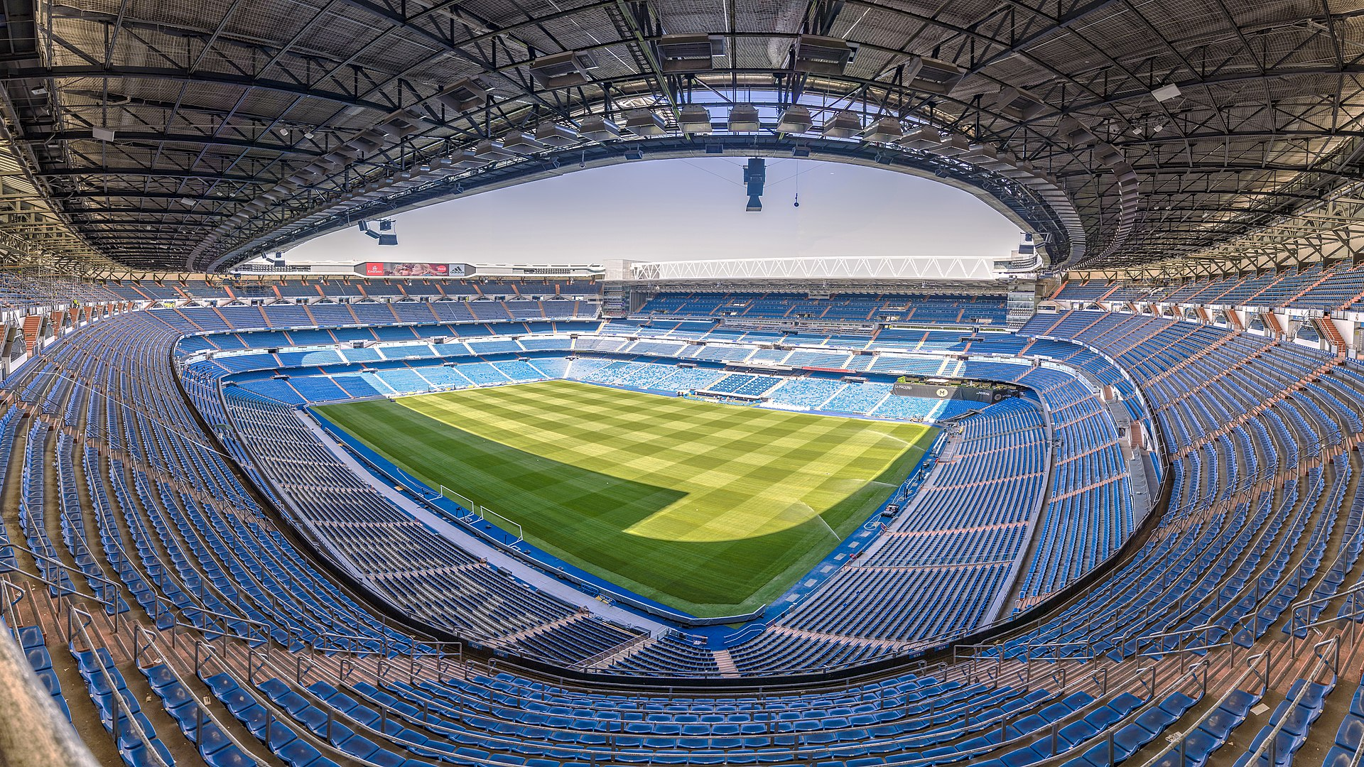 Football Stadiums - Santiago Bernabeu, Madrid