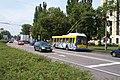 Pardubice, Hlavní nádraží, Trolejbus 21Tr.JPG