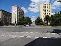 Pardubice, Palackého třída, pohled k pivovaru.jpg