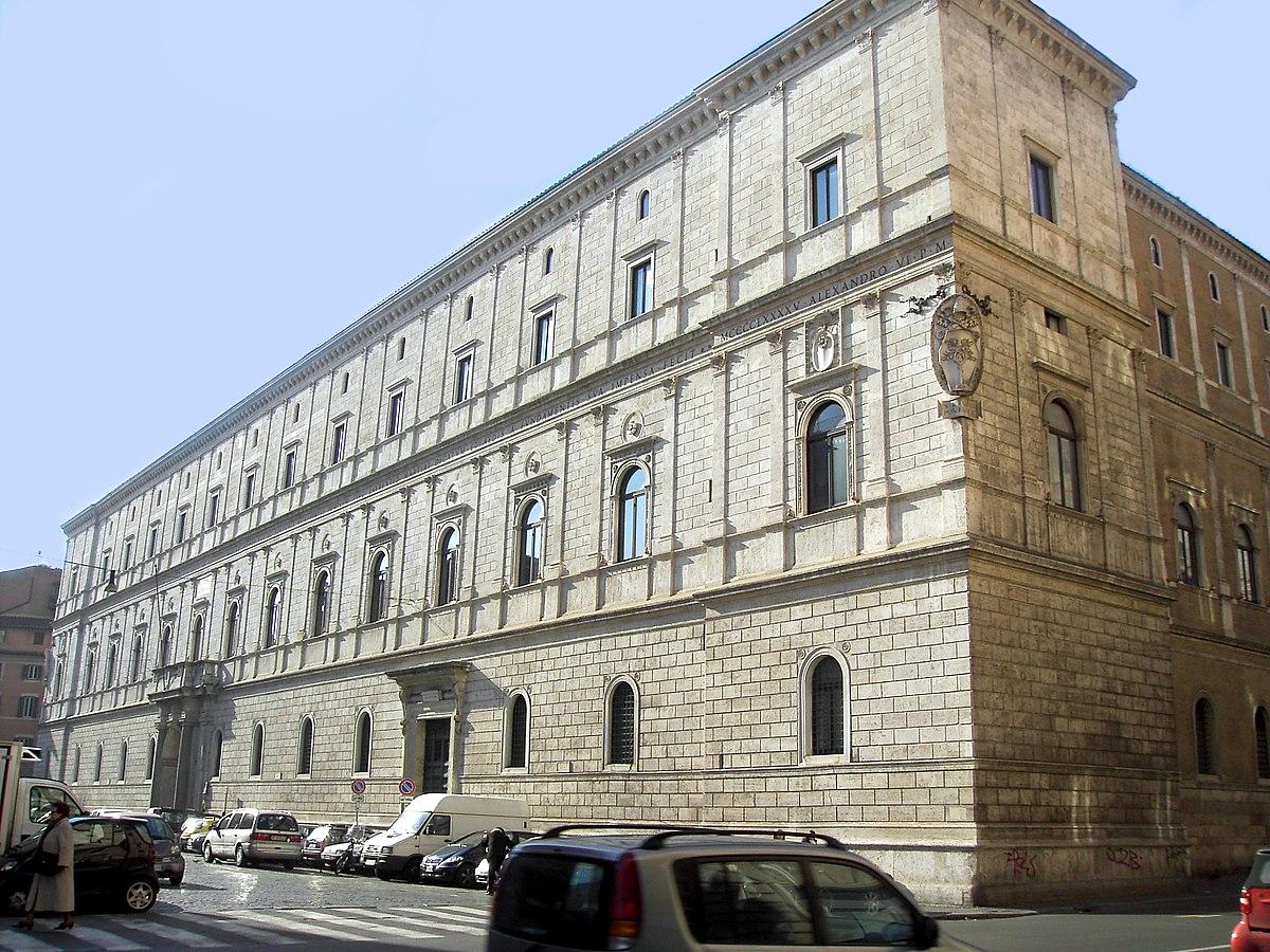 Palazzo della cancelleria wikipedia - I giardini di palazzo rucellai ...