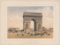 Paris. Arc de Triomphe de l'Étoile, ca. 1855 - Library of Congress .tiff