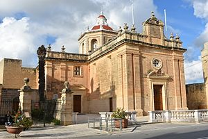 Safi, Malta - Image: Parish Church of San Paul 1