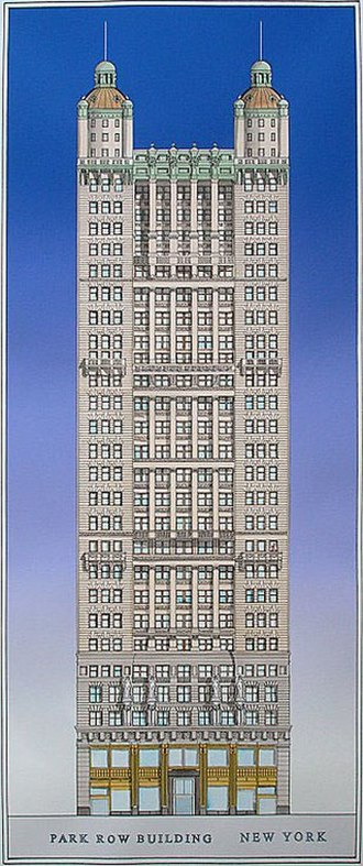 Park Row Building - Image: Park Row Building New York