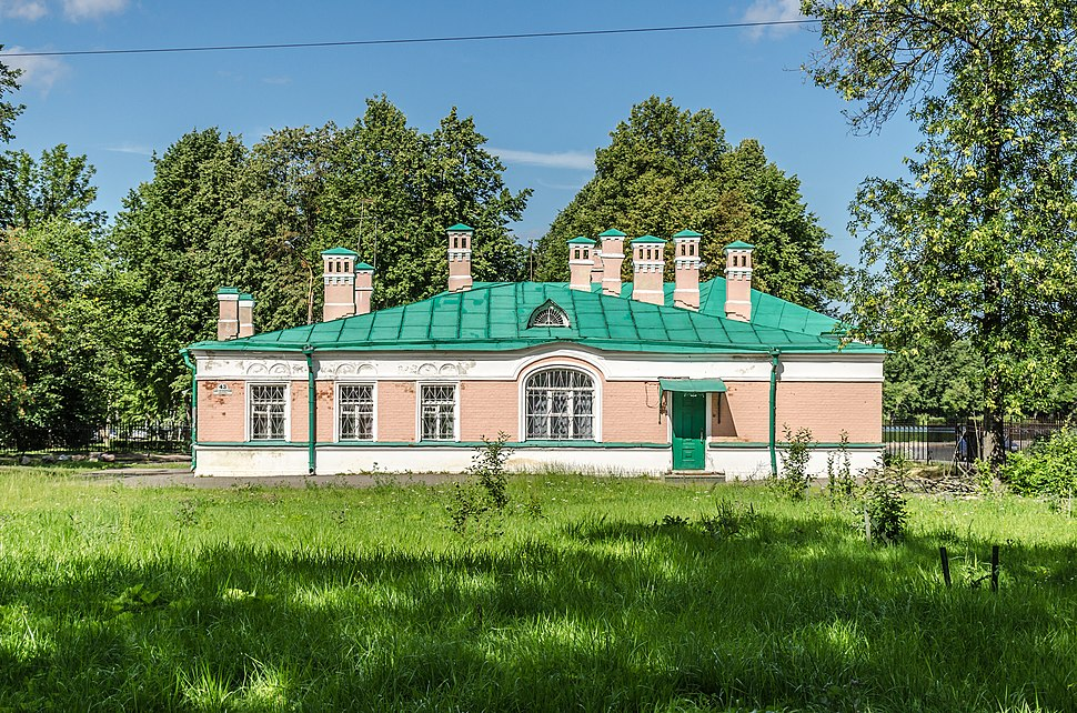 Parochial school in Peterhof
