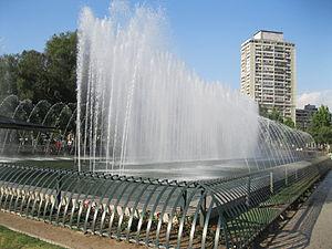 Providencia, Chile - Aviation Fountain, Providencia Square