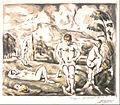 Paul Cézanne - Les Baigneurs (grande planche) (The Large Bathers) - Google Art Project.jpg