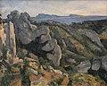 Paul Cézanne - Rochedos em L'Estaque.jpg