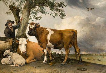 Paulus potter wikipedia la enciclopedia libre - Cuadros de vacas ...