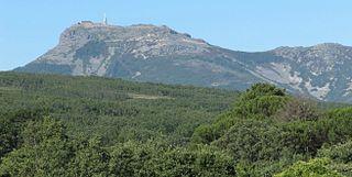 Peña de Francia mountain in Spain