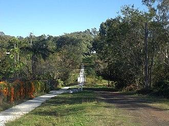 Bellbird Park, Queensland - Path along Jones Road, 2016