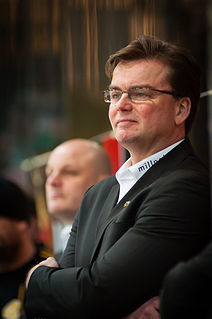 Pekka Tirkkonen Finnish ice hockey player and coach