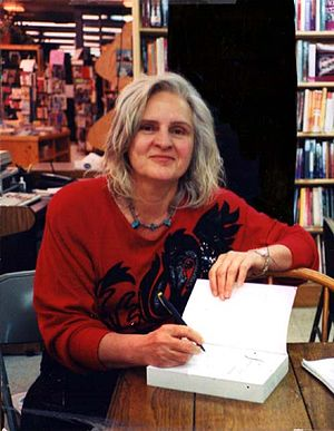 Penelope Rosemont - Penelope Rosemont signing at Chicago's Women and Children First, 2007.