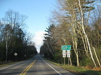 Pennsylvania Route 118 - PA 118 at the junction with PA 239 in Jordan Township