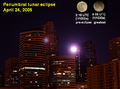 Penumbral eclipse Minneapolis 24 April 2005.png