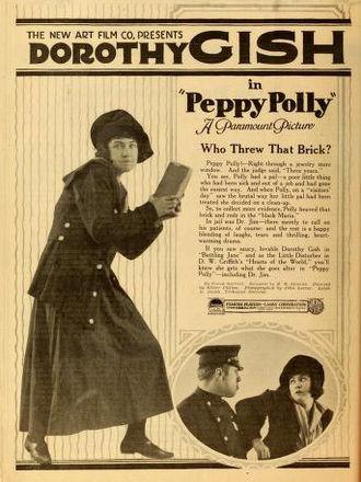 Dorothy Gish - Peppy Polly (1919)
