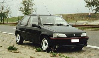 Peugeot 106 - 106 Rallye Phase 1