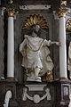 Pfarrkirchen, Wallfahrtskirche Gartlberg, pulpit 009.JPG