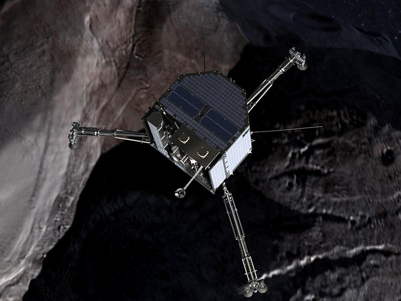 [Image: 800px-Philae_over_a_comet_%28crop%29.jpg]