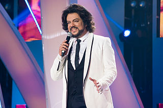 Philipp Kirkorov Russian pop singer