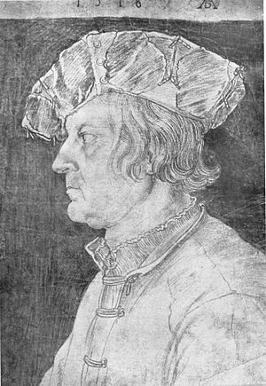Philip, Count of Solms-Lich - Drawing of Philip made by Albrecht Dürer in 1518 during that year's Diet of Augsburg.