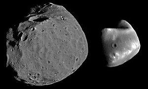 North Polar Basin (Mars) - Image: Phobos deimos diff horizontal