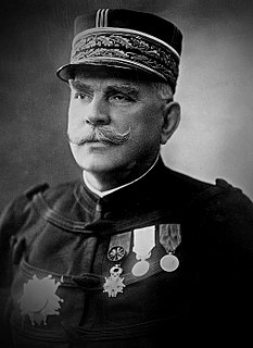 Joseph Joffre French general who served as Commander-in-Chief of French forces on the Western Front from the start of World War I