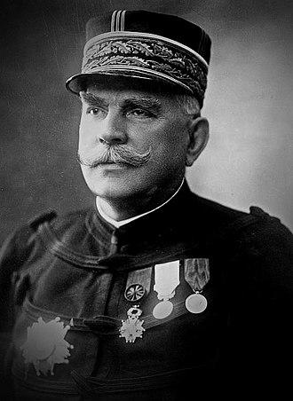 Joseph Joffre - Image: Photo portrait of Gen Joffre (darker)