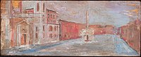 Piazza Navona - olio su tavola - anno 1962 - di Paolo Salvati.jpg