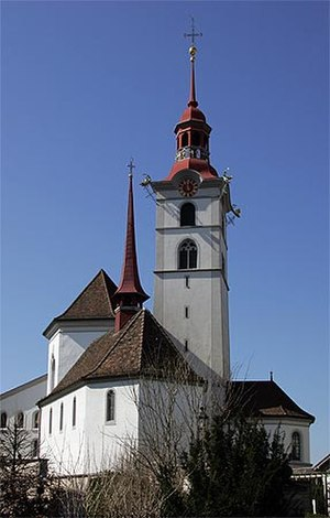 Sursee - Roman Catholic Church of St. George in Sursee