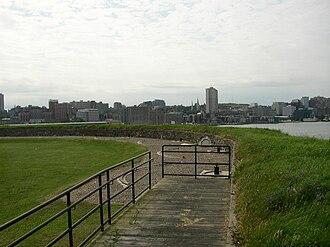 Georges Island (Nova Scotia) - Fort Charlotte on Georges Island
