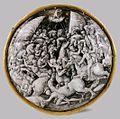 Pierre Pénicaud - Round Medallion Featuring Combats - WGA17148.jpg