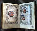 Pierre vidoué, libro d'ore, maggio (apparizione di san michele), guillaume godard, parigi 1523.JPG