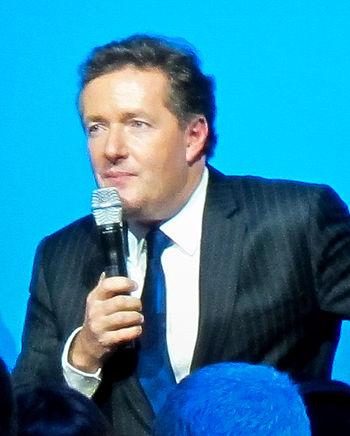 Piers Morgan at CES 2011.