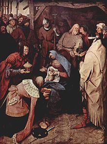 Ang Adorasyon ng mga Mago ayon kay Peter Bruegel na Nakatatanda