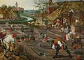 Pieter Brueghel the Younger, Spring, oil on panel, Sotheby's.jpg