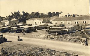 Jerusalem Central Bus Station - Central Bus Station, 1930s