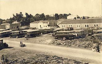 Jerusalem Central Bus Station - Central Bus Station, 1930s