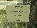 PikiWiki Israel 53795 the tree of life in the name of elie wiesel.jpg