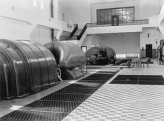 Reading Power Station - Turbine hall, 1939