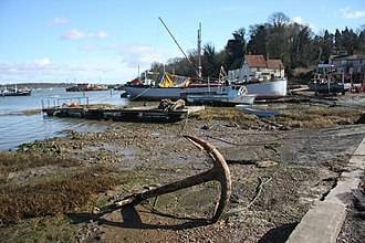 Strong Winds series - Pin Mill, near Ipswich, is a setting for much of the action in the trilogy.