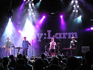 2010 in Norwegian music - Image: Pink Robots Bylarm 2010