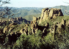 High Peaks im Pinnacles-Nationalpark